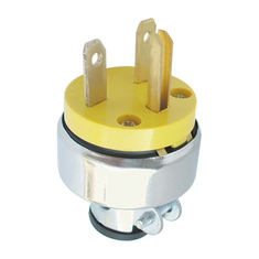 China 250V 15Amp Electric Plug Good Electrical Conductivity Over Current Protection supplier