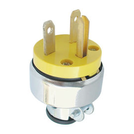 250V 15Amp Electric Plug Good Electrical Conductivity Over Current Protection