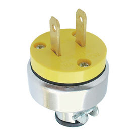 Household U Electric Plug 125V 15Amp SERIES ABS Material With Copper Insert Pin